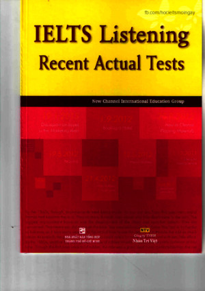 IELTS Listening Recent Actual Testspdf