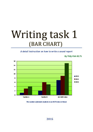 IELTS Writing Task 1 - Thay Vinh IELTS (Public version) (1)pdf