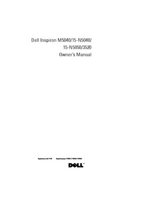 Inspiron 15 3520 Service Manual en Us