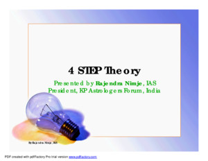 4 Step Theory- Presentation-RNimje
