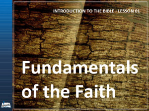 INTRODUCTION TO THE BIBLE - LESSON 01 Explain origin of the Bible Provide Brief overview of the Bible Present main themes of the Bible Reinforce the