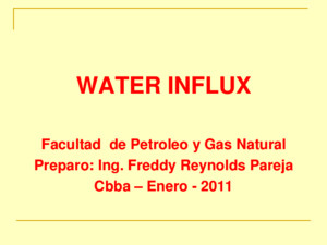 Introduction_lecture 9 water influx(castellano)ppt