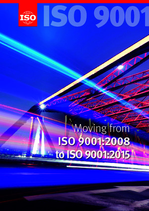 ISO 9001 - moving from 2008 to 2015