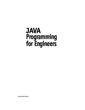 JavaprogrammingforEngineersebook EEn