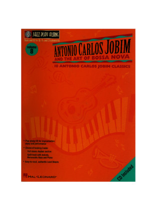 Jazz Play Along Vol 08 - Antonio Carlos Jobim