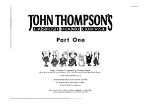 John Thompson - Easiest Piano Course Part 3[1]