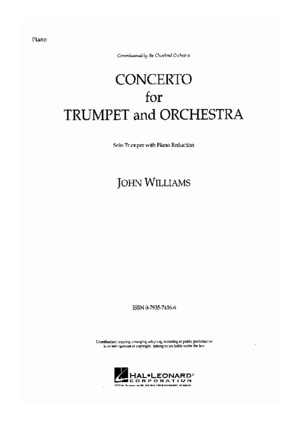 John Williams - Trumpet Concerto (PIANO AND TRUMPET)pdf