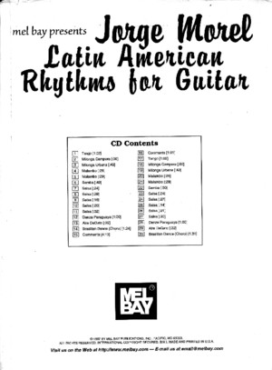 Jorge Morel - Latin American Rhythms for Guitar