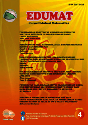 Jurnal Edumat Vol5 No9 2014