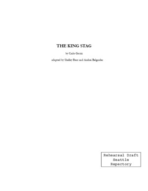 King Stag Script