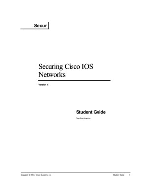 Knowledge Net SECUR - Student Guide v11