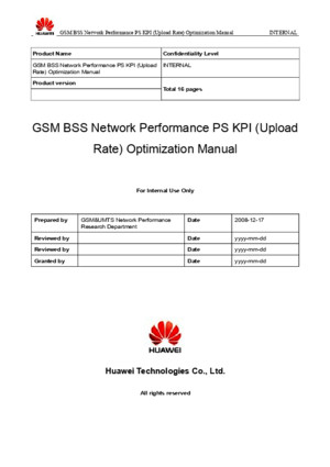 51 GSM BSS Network Performance PS KPI (Upload Rate) Optimization Manual[1] - Buscar Con Google