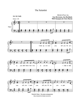 Led Zepplin, Stairway to Heaven (Piano) (Partitura - Sheet Music - Noten - Partition - Spartiti)