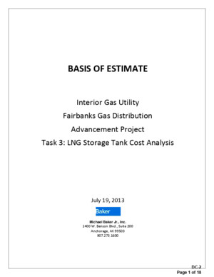 LNG Storage Tank Cost Analysis
