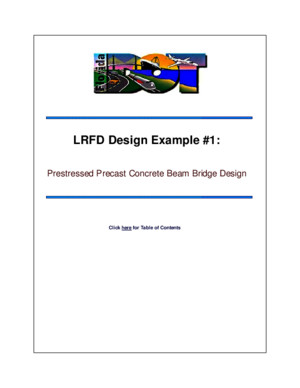 LRFD Design example Nº1 Prestressed prescast concrete beam bridge design (MATLAB)