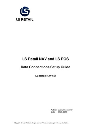 LS Retail NAV and LS POS Data Connections Setup Guide