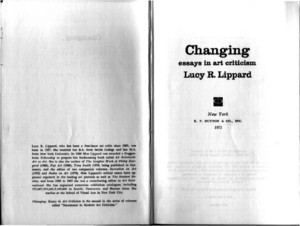 Lucy Lippard - Eccentric Abstraction