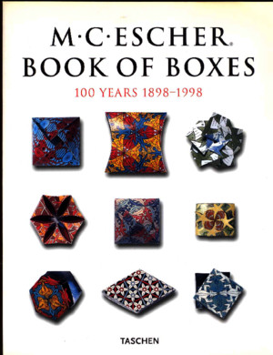 M C Escher Book of Boxes - 100 Years 1898-1998