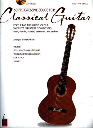 60 Progressive Solos for Classical Guitar