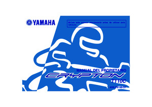 Manual Yamaha Crypton