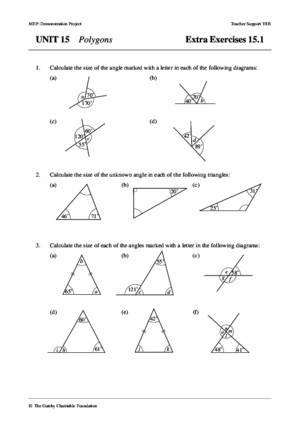 Mathematics Form 3 Chapter 2 Polygon Exercise