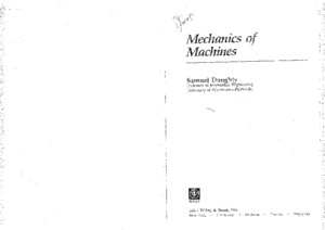 Mechanics of Machines Samuel Doughty