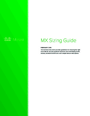 Meraki Whitepaper Mx Sizing Guide