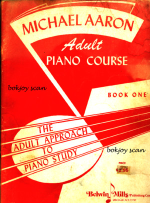 Michael Aaron Adult Piano Cour