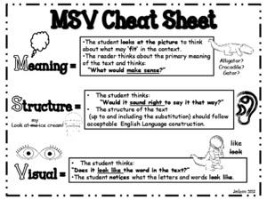 MSV Cheat Sheet