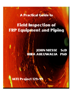 MTI Field Guide to Inspection of FRP