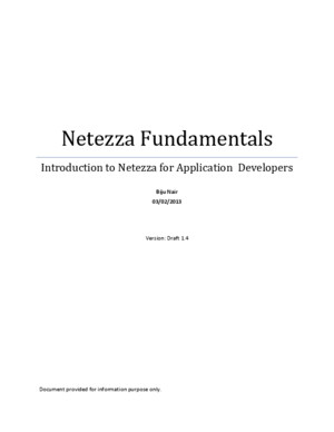Netezza Fundamentals for Developers