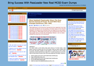 NEW 70-410 Exam PDF and VCE Dumps With