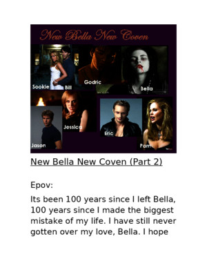 New Bella New Coven part 2