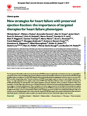 New Strategies for Heart Failure With Preserved Ejection Fraction the Importance of Targeted Therapies for Heart Failure Phenotypes