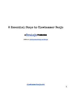 8 Essential Steps to Clawhammer Banjo Book