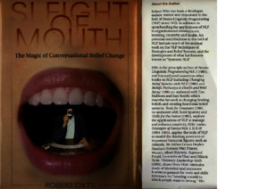 NLP - Robert Dilts - Sleight of Mouth - The Magic of Conversational Belief Changepdf