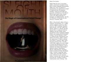 nlp - sleight of mouth - the magic of conversational belief change (by robert dilts)pdf