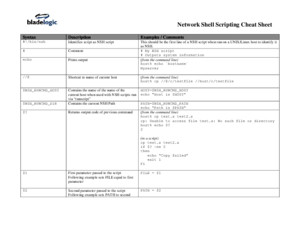 NSH Scripting Cheat Sheet v2