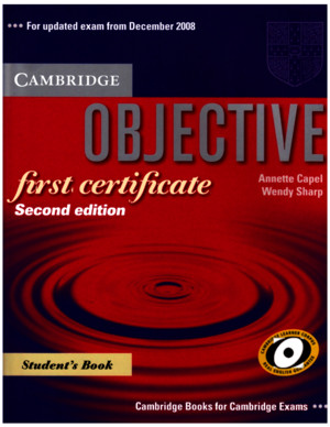 Objective First - Students Book