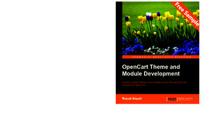 OpenCart Theme and Module Development - Sample Chapter