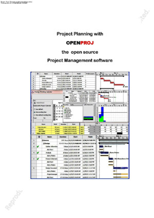 OpenProj - Project Management