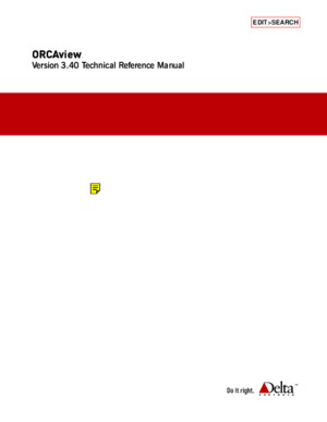 ORCAview Technical Reference Manual 340pdf
