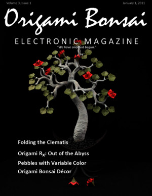 Origami Bonsai Electronic Magazine Vol 3 Iss 1