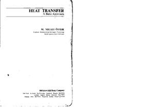 Ozisik, M Necati - Heat Transfer, A Basic Approachpdf