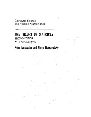 PLancasterTheTheoryofMatrices2ndEDpdf