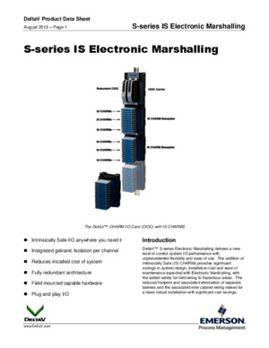 PDS S-Series is Electronic Marshalling