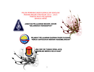 Pelan Strategik Panitia Ba 2013-2015