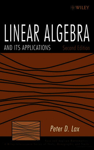 Peter Lax - Linear Algebra and Its Applicationspdf