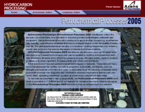 Petrochemical Process HandBook