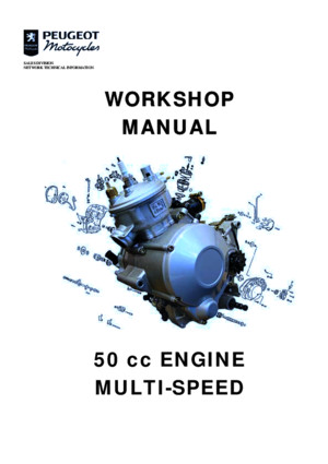 Peugeot 50cc Xp6 Xps Service Repair Manual Manualmadnesscom